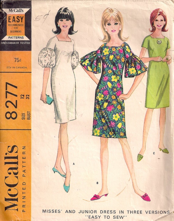 McCall's 8277 Easy to Sew dress