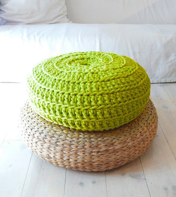 Floor Cushion Crochet - Giant knit