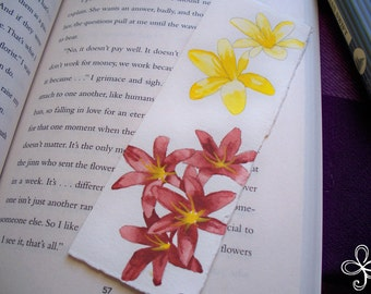 Six Lilies Bookmark