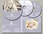 DVD Case and DVD Label Templates for Millers Lab- Ashley Collection