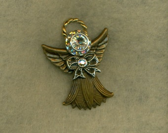 Angel Brooch Vintage  (VPB-104)