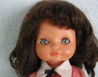 Vinyl Doll  17 inches marked VICMA SPAIN C.1975 By Gatormom13