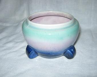 Atomic Design/Small  Vase/ Ceramic Vase/ Studio Pottery/By Gatormom13 JUST REDUCED