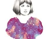 Helix - Giclee Print