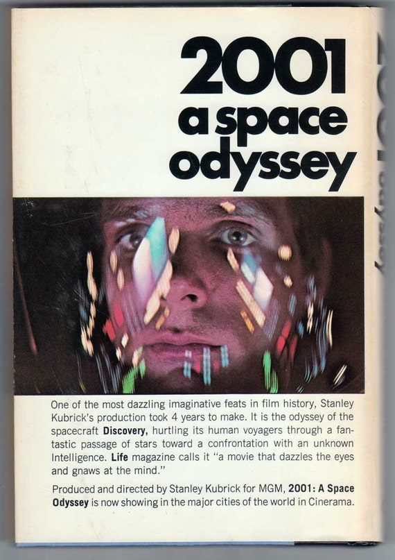 2001 A Space Odyssey Hardcover Book 1968