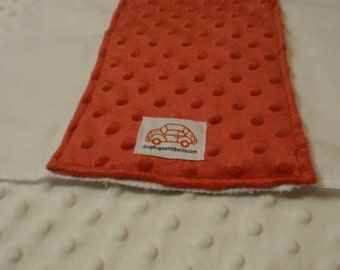 Minky Soft Burp Cloth