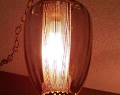 Sasparilla Vintage Brown Swag Hanging Pendant Light