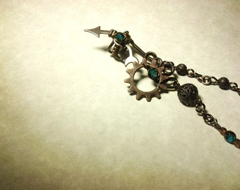 Steampunk Faerie Ear Cuff - Whimsical Treasure