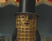 Mr Peanut - Atlantic City - Boardwalk - Amusement Park Art