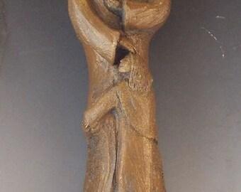Patron of Grandfathers: St. Joachim, Handmade Statue (Small Size)