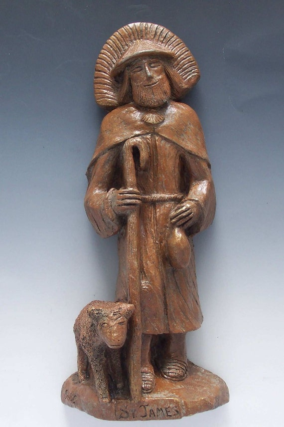 St. James Statue: Patron Walkers, Runners, Pilgrims