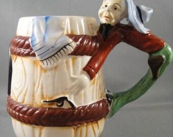 Cowboy Comical Mug Made in Japan