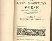 The Standard Book of British and American Verse 1932