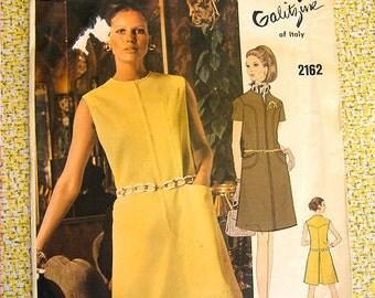 Vogue Couturier Design 2162 * Galitzine of Italy * 1970s Vogue Dress Pattern