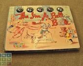 """Vintage 1948 """"Jingle Bell Book"""" of Nursery Rhymes"""