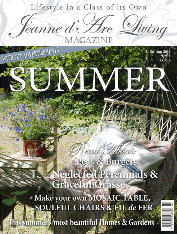 Jeanne d' Arc Living Magazine 5th Edition of 2012 - IN-STOCK