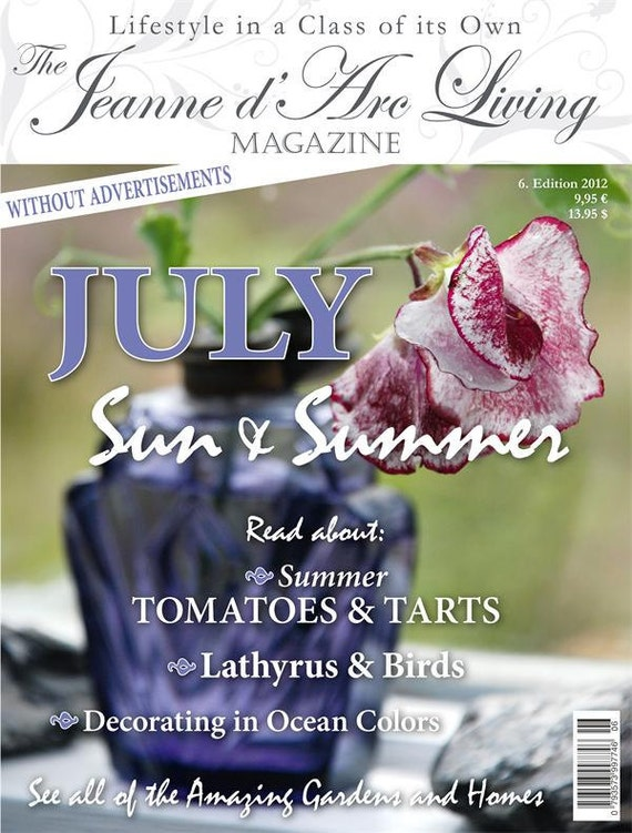 Jeanne d' Arc Living Magazine 6th Edition of 2012 - PRE-ORDER