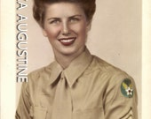 Download Now // Digital Scan // Vintage // Tinted Photo // WAC Womens Army Corp //Soldier                      1187
