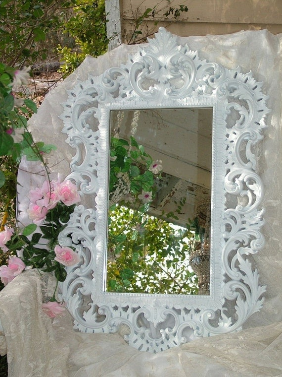 Layaway Reserve for Carley VINTAGE 1963 Wedding Upcycled RARE to Find  Chalkboard/Mirror 35 x 22 CHOOSE Color