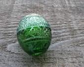 vintage Avon egg cream sachet holder : little green egg by 24pont