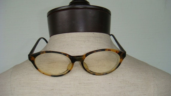 Vintage 80's Rest & Relax Turtle Shell Tone Glasses