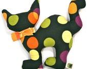 Dog Toy Halloween Black Cat