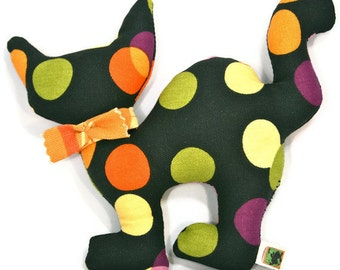 Dog Toy Halloween Black Cat