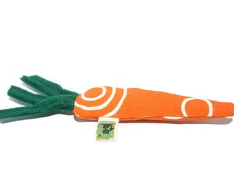 Organic Catnip Cat Toys Carrot