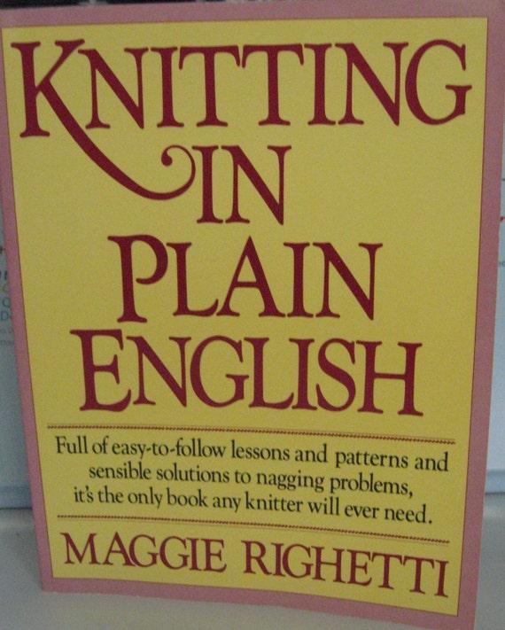 Knitting in Plain English