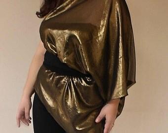 GOLD Shrug bolero tunic