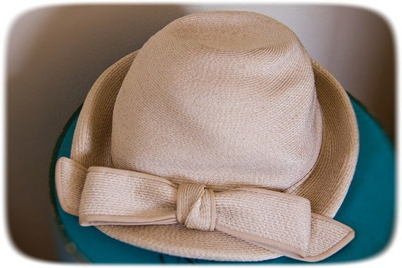 the zelda hat cream straw cloche by quality house chapeaux