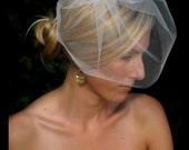 Destiny wedding veil, bridal veil, blusher veil, bridal hair accessories