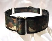 Camouflage Martingale Collar - 1.5 Inch