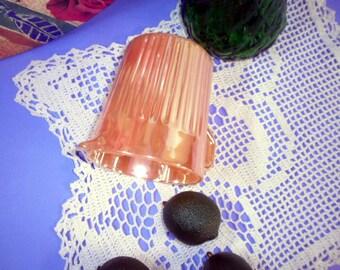 Vintage Milk Glass Creamer, Peach Lustre Royal, Creamer by Fire King Anchor Hocking, Serving Ware, Table Ware, Table Serving, Old Glass