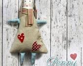 Soft Fabric Rag Handmade Doll