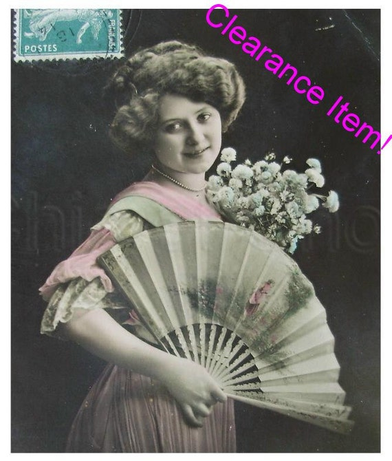 French Antique Postcard  -  Bonne Année (Happy New Year)