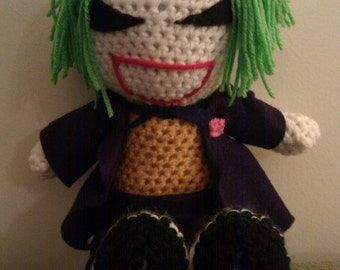 Crochet Joker Doll