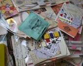 SALE Ephemera vintage small set - EMBELLISHMENT - Collage kit