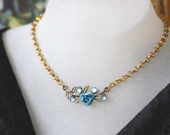 LIQUIDATION Statement Vintage Antique edgy Style with Swarovski stones necklace choker
