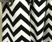 Standard Tub Shower Curtain - Premier Decorator Zig Zag Chevron  - Pick your color