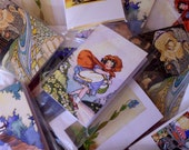 Mini Journal, Notebook, Little Diary, Artists Pocket Sketch Book