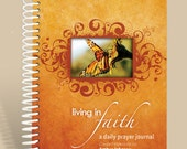 Christian Gift / Prayer Journal Personalized - Golden Butterfly - Psalm 19:14/
