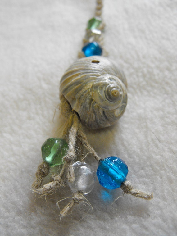 Seashell Braided Necklace