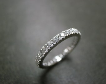 Eternity Diamond Wedding Platinum Ring