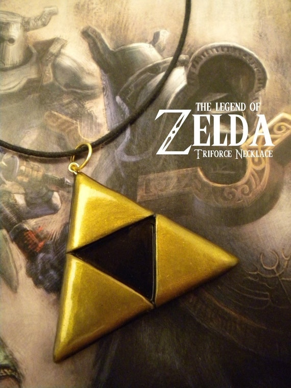 Triforce Necklace - Legend of Zelda - Nintendo