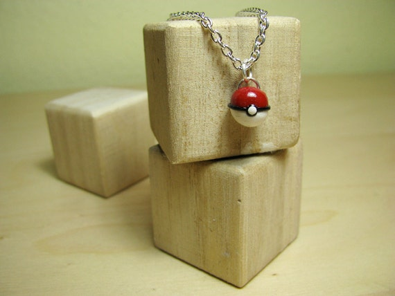 Pokeball Pokemon Necklace