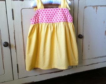 Shirt Pattern - Shoulder Tie Top - Baby Toddler Children Sizes 1 to 6