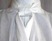 Mans English Regency Shirt and 18th Century Wedding Groom Shirt Formal Evening wear