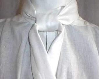 Mans 18th Century and English Regency Shirt Groom's Wedding Shirt Formal Evening wear