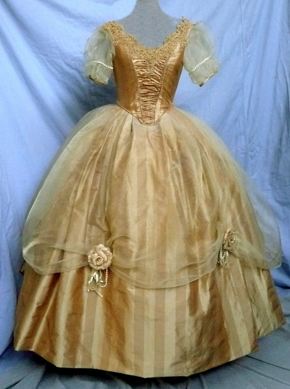 disney princess quotbellequot dress victorian ball gown silk